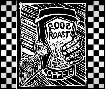 Serving Roo's Roast Coffee