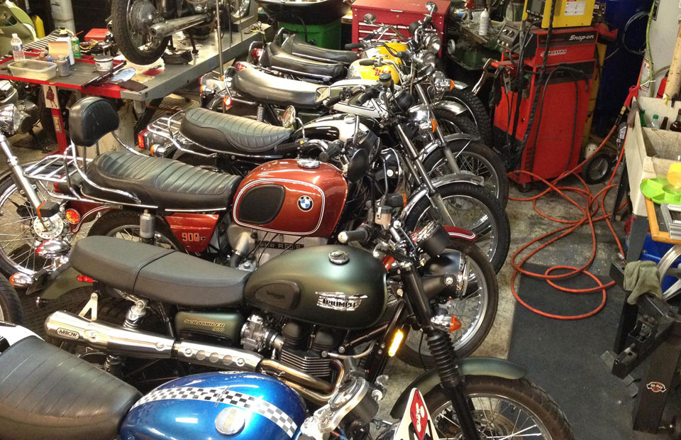 cafe racer ypsi - vintage motorcycle sales & repair. now selling