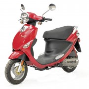 Buddy 50cc Red